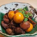 料理メニュー写真美唄鶏もつのワイン煮