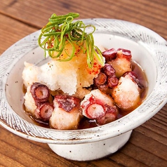 料理メニュー写真【北海道産水タコ】たこざんぎポン酢仕立て