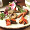 料理メニュー写真HACHIの前菜5種盛り
