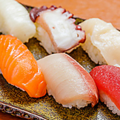 親方のきまぐれ握り寿司 5貫