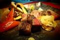 料理メニュー写真国産牛サーロインステーキ 150g
