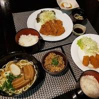 ランチメニューもやってます!沖縄そば、ジューシーご飯