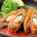 料理メニュー写真海老の豚しそ巻きフライ
