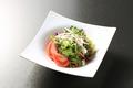 料理メニュー写真チョレギサラダ/和風サラダ/彩り大根サラダ