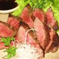 料理メニュー写真和牛ロースのステーキ