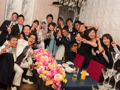 結婚式二次会にオススメ☆無料特典多数!