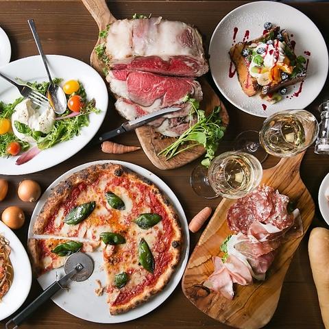 お肉料理&ワイン イタリアンカフェ KAMINOKURA 436 TERRACE(カミノクラ436テラス)
