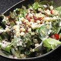 料理メニュー写真肉八チョレギサラダ/肉八シーザーサラダ