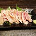 料理メニュー写真赤鶏のタタキ