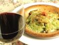 ワインと共に、お食事を堪能。