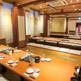 総席数130席☆ご宴会は最大50名様までOK♪宴会はなの舞 新鎌ヶ谷店で!
