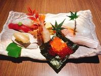 ◆板前さんの握る本格お寿司を堪能