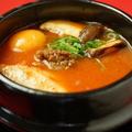 料理メニュー写真キムチ豆腐チゲ
