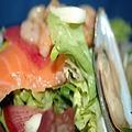 料理メニュー写真豊洲直送!本日の鮮魚サラダ
