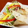 料理メニュー写真野菜パパドロール (2個)