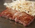 料理メニュー写真黒毛和牛ステーキ