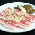 料理メニュー写真豚カルビ(国産豚使用)たれor塩