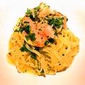 料理メニュー写真甘エビとハーブのカッペリーニ