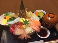 ◆ランチタイムにも鮮魚お得に味わえます