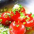 料理メニュー写真(とりあえず)トマトのおひたし