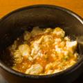 料理メニュー写真石焼マーボ豆腐