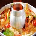 料理メニュー写真トムヤムクン(海老の辛酸味スープ)