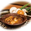 料理メニュー写真マッシュルーム丸長焼