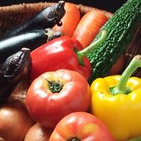 野菜をたっぷりと…