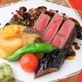 料理メニュー写真サーロインステーキ わさび風味