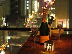 特別な日のデートにも・・・。ワイン、シャンパンなどのご用意もあります♪
