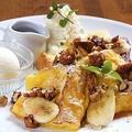 料理メニュー写真キャラメルナッツのフレンチトースト