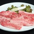 料理メニュー写真カルビ(純国産牛アバラ肉)