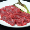 料理メニュー写真ロース(純国産牛ランプ肉)