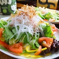 料理メニュー写真シャキシャキ大根と水菜の梅サラダ