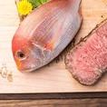 厳選された食材を使用『肉魚』