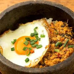 料理メニュー写真タイ風ガパオライス