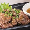 料理メニュー写真国産 鮮レバーの黒焼き 葱油
