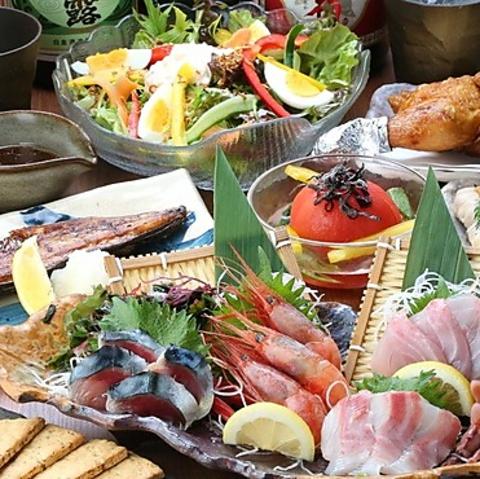 浅草橋で和食を堪能!鮮度を命とした串焼・鮮魚・季節の料理をご用意しております。