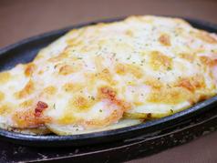 じゃが明太マヨのチーズ焼き