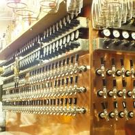 日本でも最高峰!60種類以上の生ビールが味わえる!
