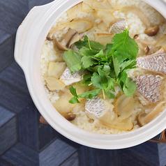 真鯛の土鍋炊き御飯