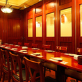 【完全個室】12名~16名様用。少人数の飲み会に最適な空間です。