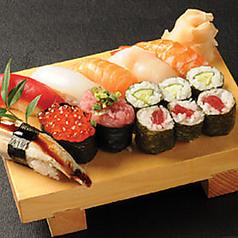 料理メニュー写真上寿司盛り「潮風」