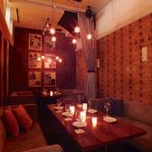 完全個室なので、周りを気にせずお食事をお楽しみいただけます♪六本木駅6番・7番・4a番 出口から徒歩2分なので、集合しやすい好立地♪