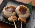 料理メニュー写真豚椎茸の醤油焼き