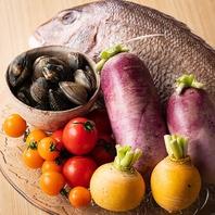 淡路島の新鮮な食材を使用した逸品料理をご提供