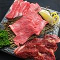 料理メニュー写真肉盛り合わせ3種盛り