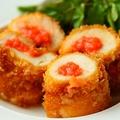 料理メニュー写真鶏むね肉の明太チーズロール揚げ