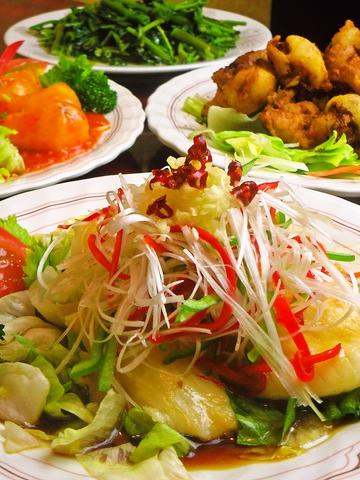 本格的な台湾料理がリーズナブルに楽しめる店。女性に人気のヘルシーメニューも豊富。
