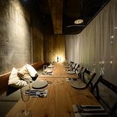 カーテンで仕切れば半個室に◎女子会やお誕生日会など2名様~18名様までのご宴会が可能です。